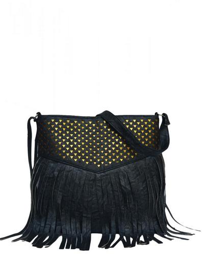 Black Designer Fringe Sling Bag, Rs 749 /piece Trend Yug | ID .