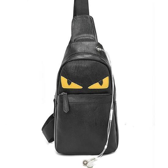 2018 Luxury Designer New Design PU Chest Bag Leather Me Sling Bag .