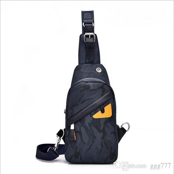 Designer Women Men Bag Fashion Chest Bag Sling Bag Oxford Cloth .