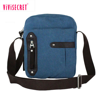 Brand New Design Business Messenger Bag Canvas Mini Sling .