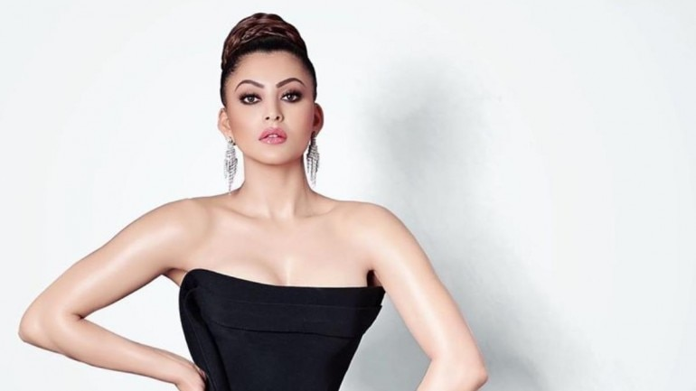 Urvashi Rautela in risque thigh-slit dress shows how to steal the .