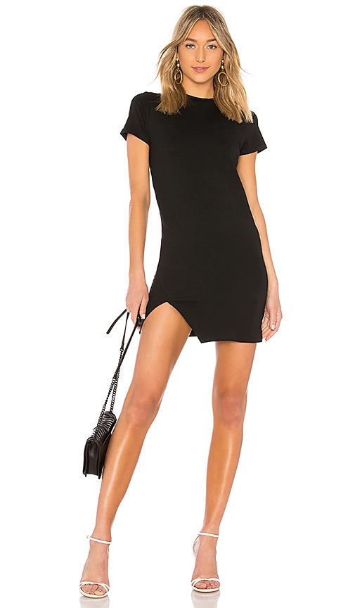 superdown Destiny Slit Dress in Black | REVOL