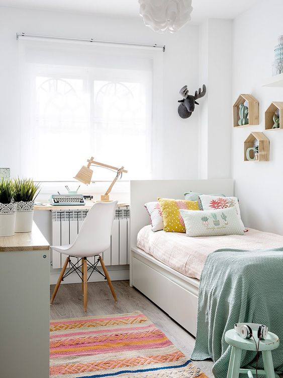 20 Small Bedroom Ideas to Make Your Bedroom Looks Roomi