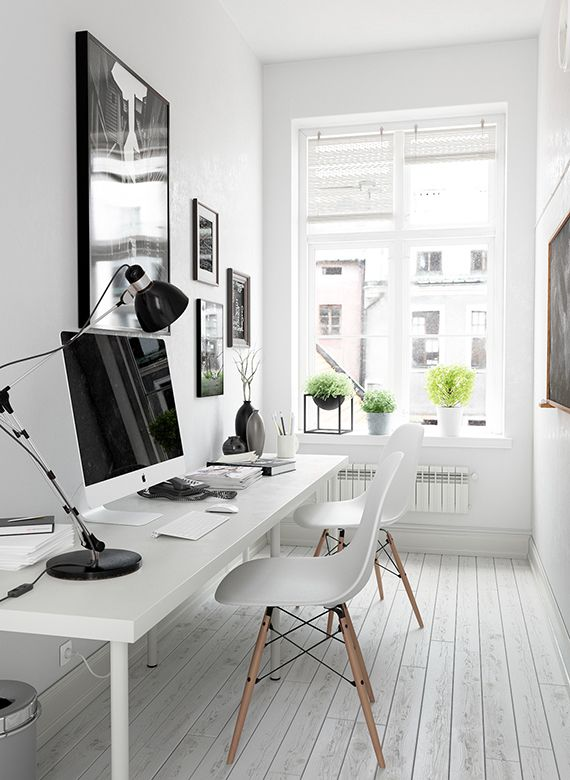 Small home office inspiration | Small home offices, Small home .