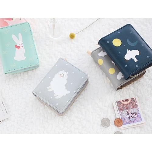 Livework Piyo cute animal zip around small wallet - fallindesi