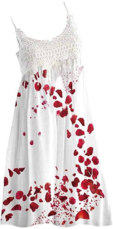 Amazon.com: Sagton Spring Dresses for Women Vintage A-Line Lace .