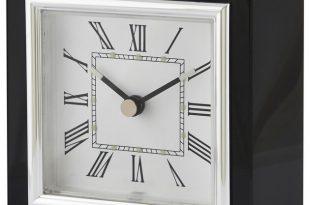 Square Clock, Black - Contemporary - Desk And Mantel Clocks - by .