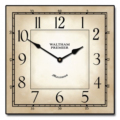 Waltham Square Clock | The Big Clock Sto