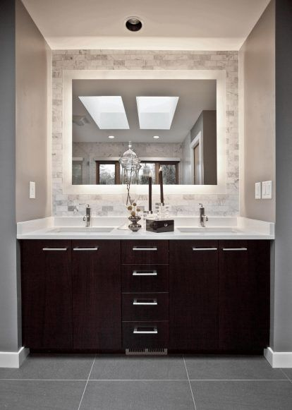 Bathroom, Pictures Of Vanities For Bathroom Large Square Mirror .
