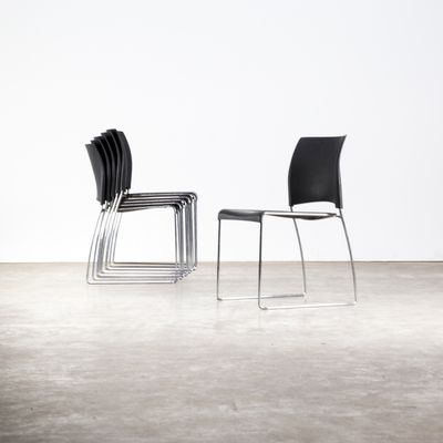 Nimble Stackable Chairs by Norm Architects for Allsteel, 2000s .