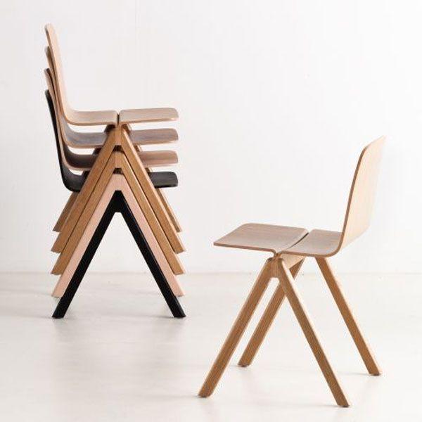 Copenhague Chair / 23 Design Stacking Chairs http://vurni.com .