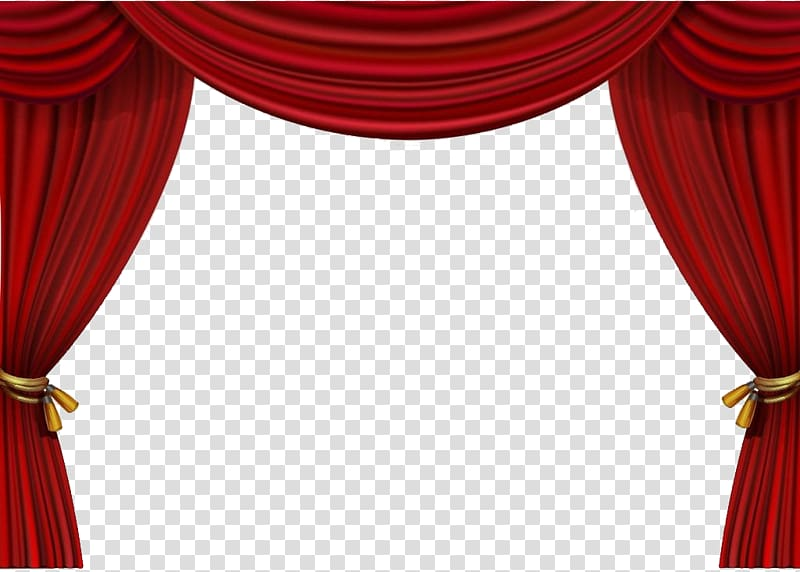 Red curtain , Theater drapes and stage curtains, Pull up the .