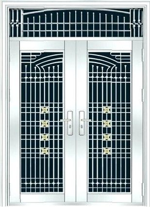 15 Trending Safety Door Designs With Pictures In 2020 | Steel door .