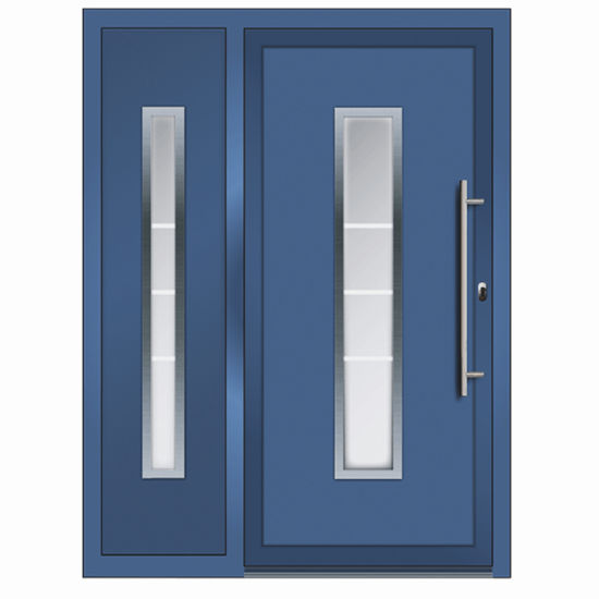 China Gold Supplier Front Door Designs Aluminum Security Steel .