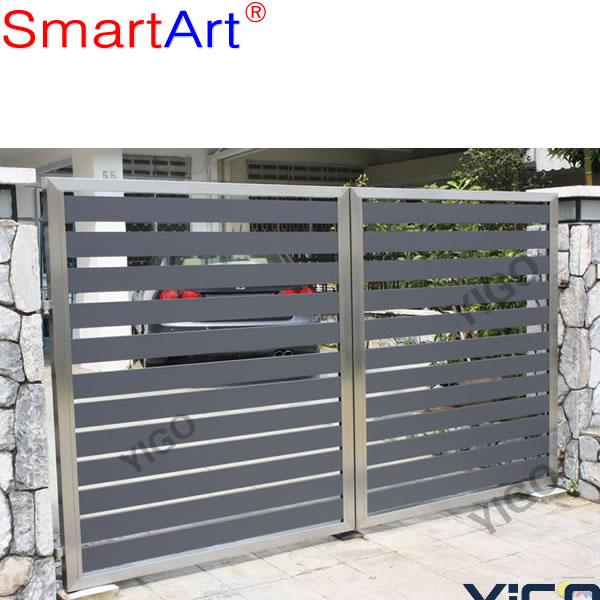 House main gate designs steel gate design _Sliding .