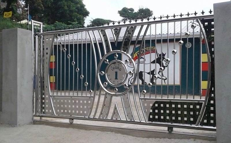 Stainless Steel Gates | Steel gate design, Gate design, Steel ga