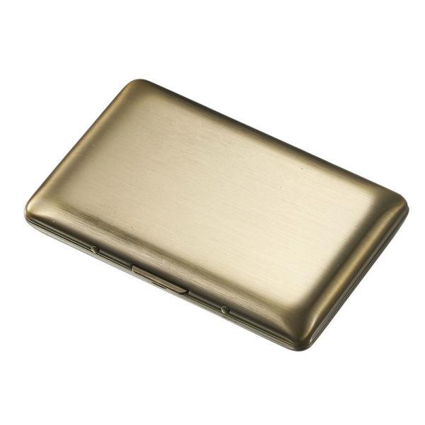Visol Clayton Antique Brass Stainless Steel Business Card Holder .