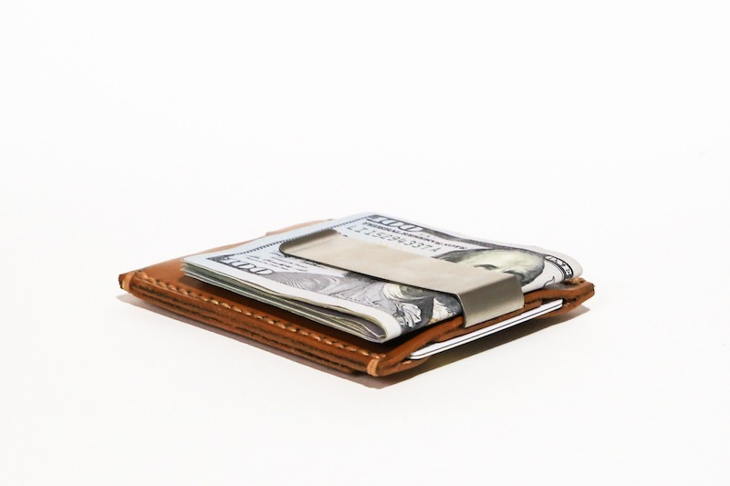 Minimalist Money Clip Wallet | Stainless Steel Clip [FREE SHIPPIN