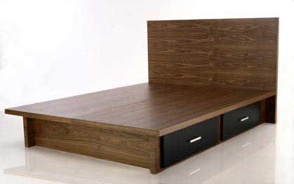 Storage Bed - Wonk's Knickerbocker (With images) | Bed designs .