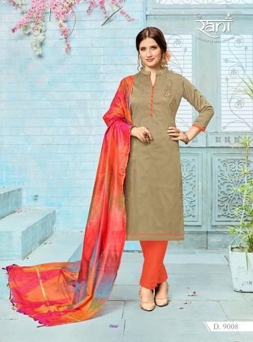 Silk Casual Wear Straight Salwar Suit, Rs 525 /piece Kapdavilla .