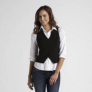 Attention -Women's Suit Vest (With images) | Womens suit vest .