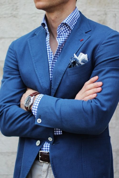 Blue & White. Men's Summer Suits 2013 | Blazers & Jackets | Colors .