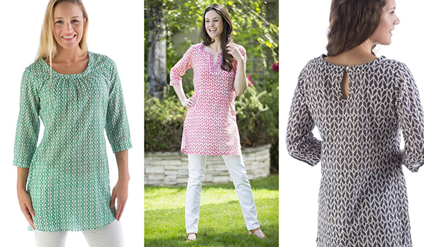 Organic Summer Tunics: Good for You and the Planet | Organic Spa .