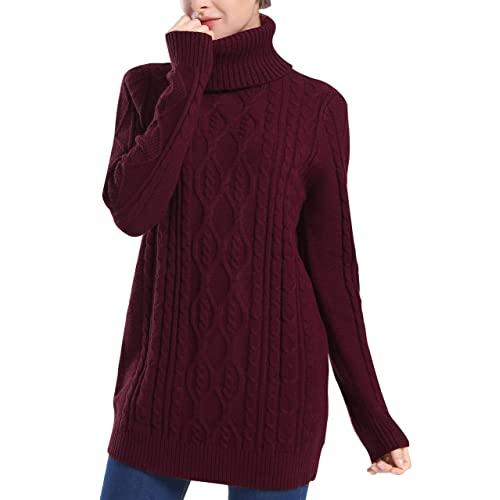 Burgundy Sweaters: Amazon.c