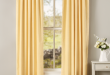 Weaver's Cloth Tab Top Curtain Panels | Vermont Country Sto