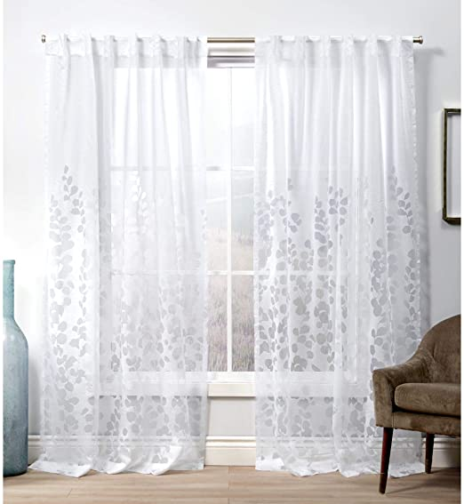 Amazon.com: Exclusive Home Curtains Wilshire Hidden Tab Top .