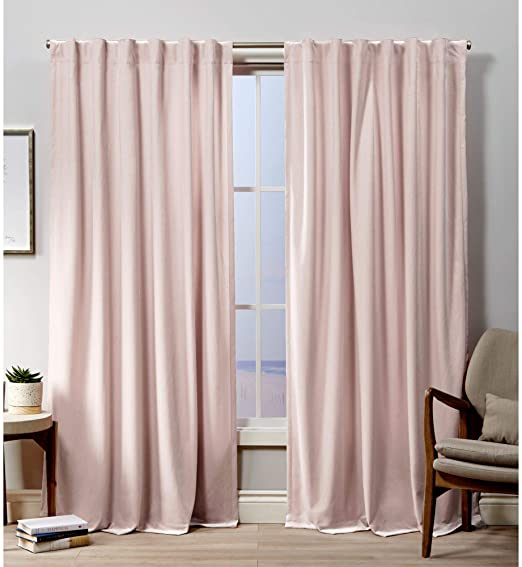 Amazon.com: Exclusive Home Curtains Velvet Hidden Tab Top Curtain .
