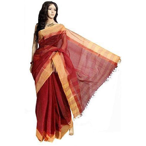 Cotton Tant Saree Manufacturer from Kolka