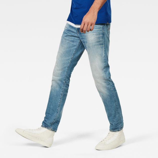 3301 Tapered Jeans | Medium Vintage Aged | Men | G-Star RAW