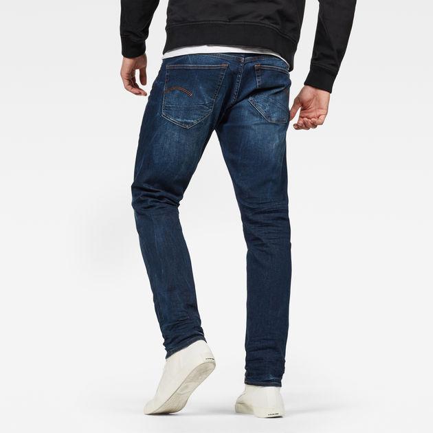 3301 Straight Tapered Jeans | Dark Aged | Men | G-Star RAW