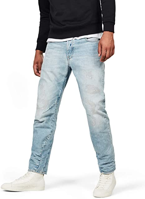 Amazon.com: G-Star RAW Mens Arc 3D Relaxed Tapered Jeans: Clothi