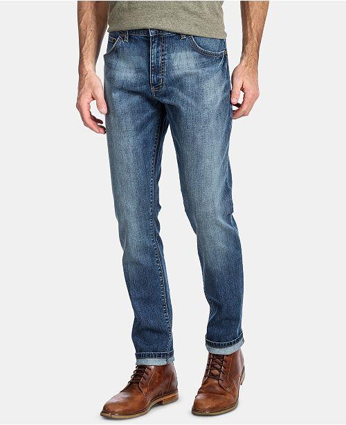 Wrangler Men's Slim Tapered Larston Jeans & Reviews - Jeans - Men .