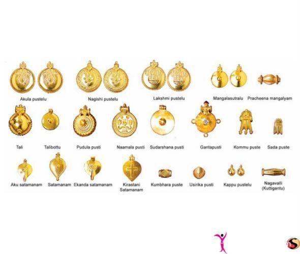 South Indian Thali Designs (Telugu) | Mangalsutra desig