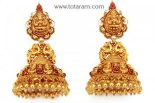 Temple Jewellery Earrings | Temple jewellery earrings, Temple .