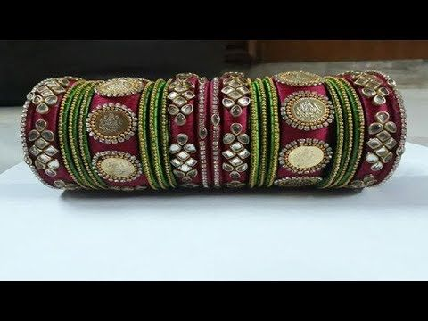 New Designer Bridal Silk Thread Bangles Collection (With images .