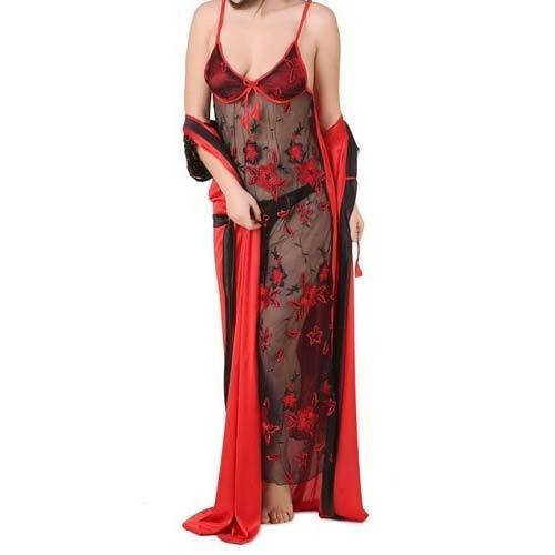 Ladies Nightwear - Womens Transparent Nighty Manufacturer from Meer