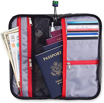 Amazon.com | Travel Wallet Organizer For Family - Fully Embedded .