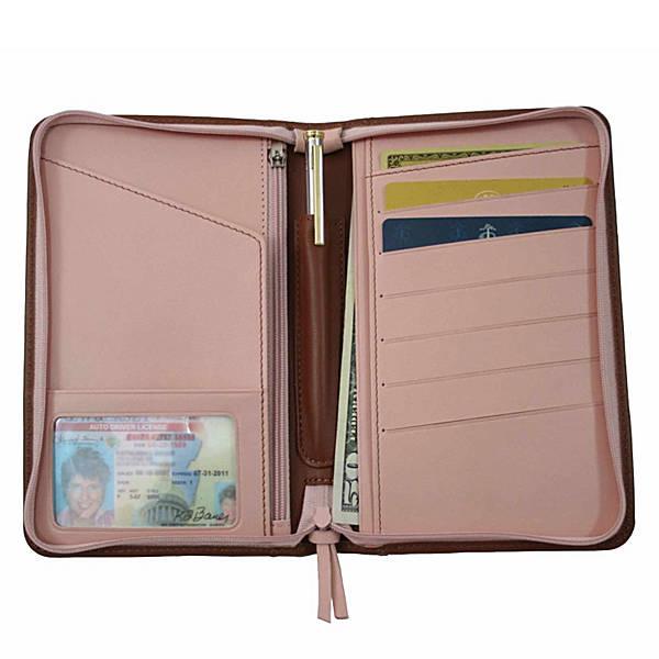 Royce Leather Passport Travel Wallet - eBags.c