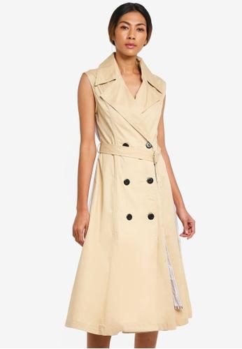 beige trench dress 8c4c