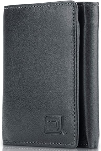 Amazon.com: Leather Trifold Wallets for Men - RFID Blocking - Mens .