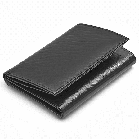 Men's Trifold Wallet with Double ID Windows - Executive Gift Shop