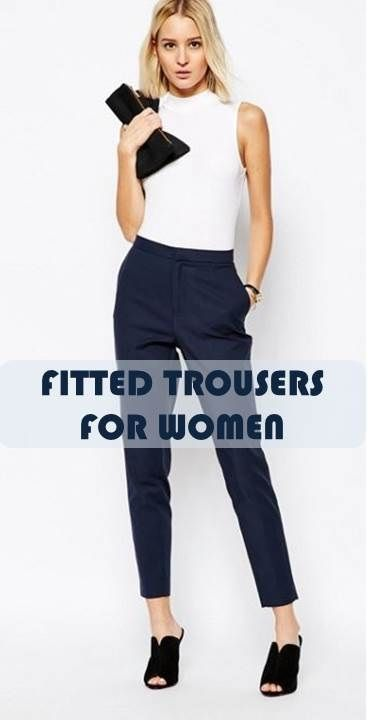 Types of pants every woman should own | Formal wear women, Formal .
