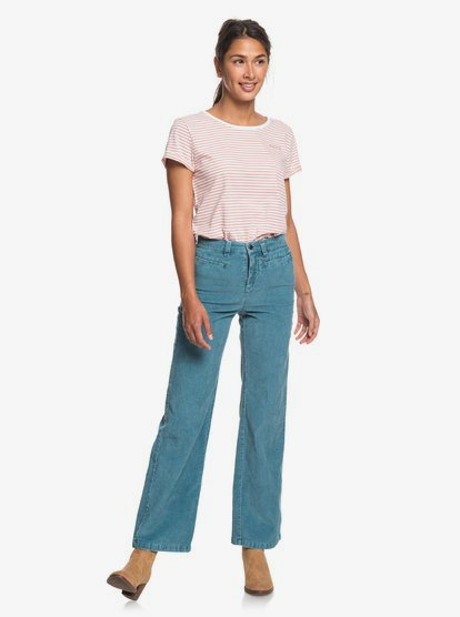 Discover People Corduroy Flared Pants ERJNP03263 | Ro