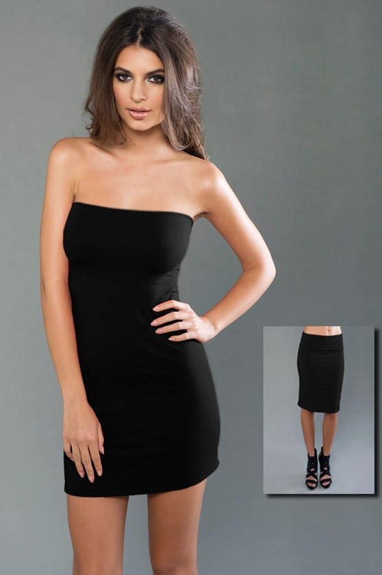 MOCO eco-HYBRID™ Spandex Jersey Tube Dress / Skirt – Care For The .