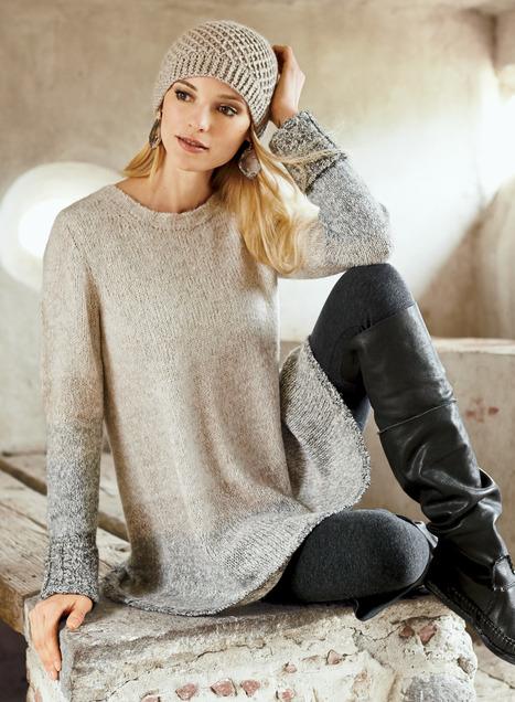 Pima Cotton & Alpaca Sunnmore Tunics, Women's Cotton Tunics .