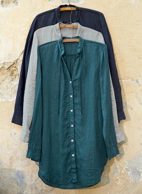 Linen Tunic - Peruvian Connecti